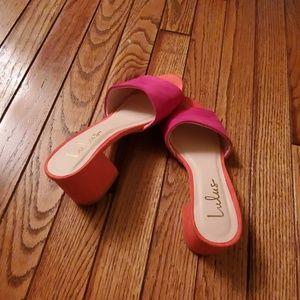 Lulus heeled mule